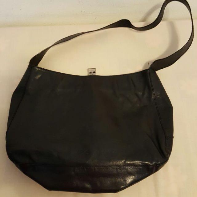 Versus Black Sling Bag