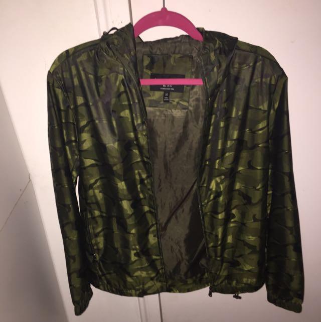 Camo Waterproof Reflective Jacket