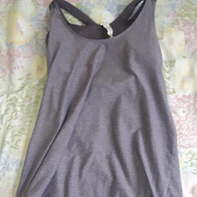 Workout Tank Top With Sports Brand Built In