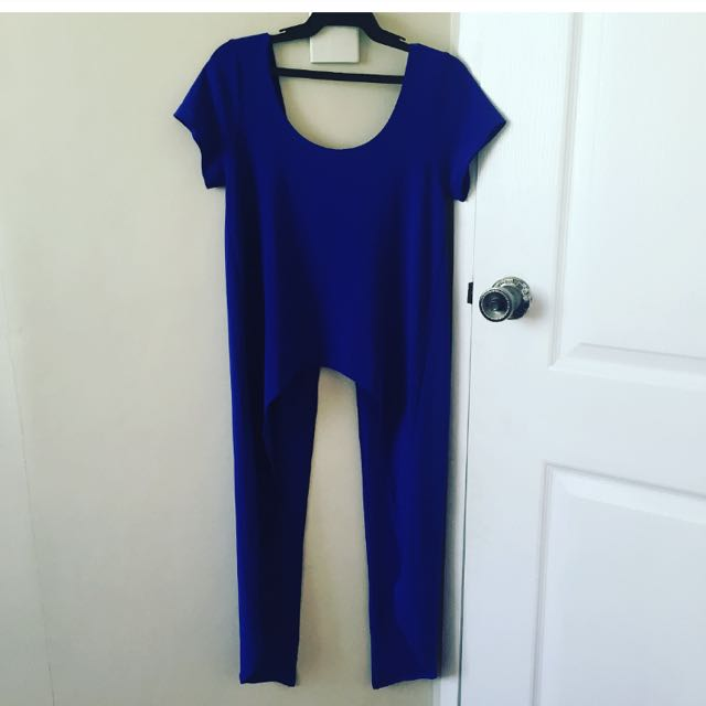 YRYS Front Slit Long Tee