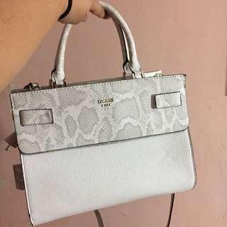 Guess Bag/ Sling Bag / Hand Bag ( White )