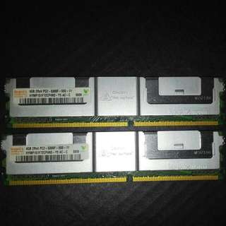 4GB 2 Unit 2Rx4 PC2 - 5300F - 55 - 11