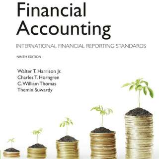 AD1101 FINANCIAL ACCOUNTING PEARSON NINTH EDITION NTU NBS GROUP A Condition: 8/10 (Highlights And Markings)