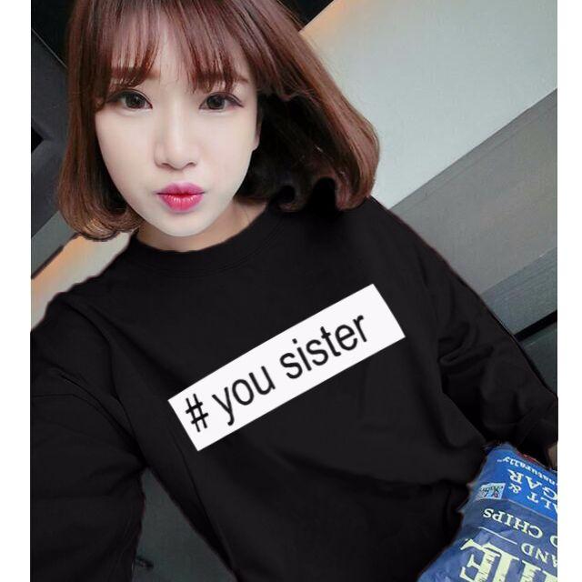 0135-T恤女秋季新款卡通印花長袖打底衫寬松顯瘦上衣服韓版學生閨蜜裝