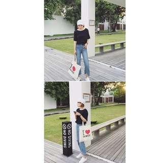 0523-學院風拼色短袖體恤韓版寬松顯瘦學生半袖上衣服