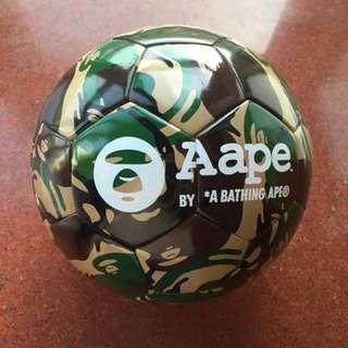 AAPE By Bathing Ape * Limited edition Camo Soccer Ball BAPE