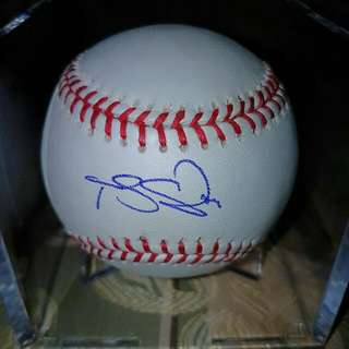 Travis Snider Signed Official MLB Baseball