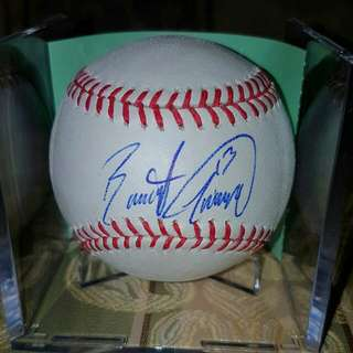 Brett Lawrie Signed Official MLB Baseball