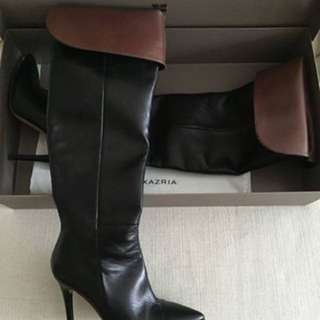BCBG knee-high leather boots