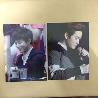EXO Suho's Fansite Postcards