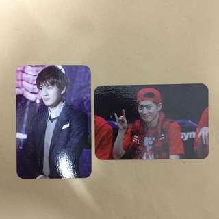 EXO Suho's Fansite Photocard Set