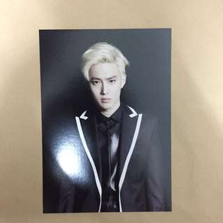 EXO Suho <From EXO Planet 1> Concert Official Postcard