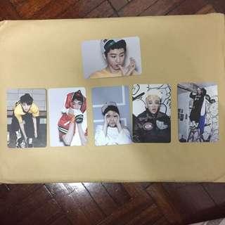 EXO XOXO Double-sided Photocards