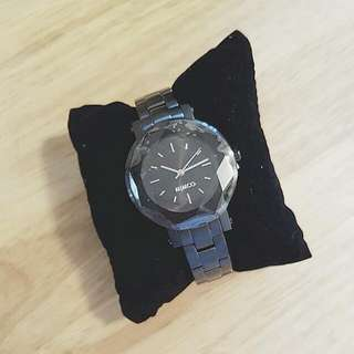 REDUCED!! AUTHENTIC, BRAND NEW MIMCO BLACK LUMINARY TIME PIECE