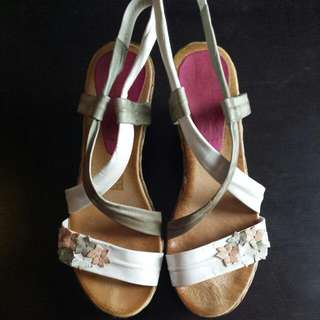 Size 39 Leather Womens Wedges