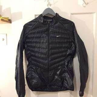 Nike Black Windbreaker