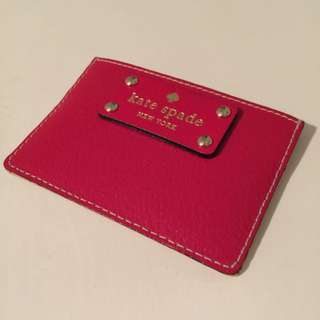 Kate Spade Leather Card Holder