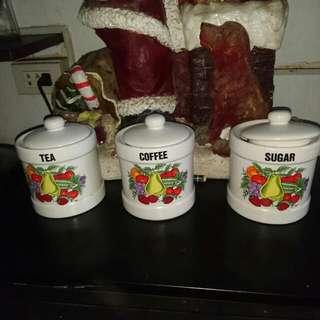 Coffee,sugar,tea