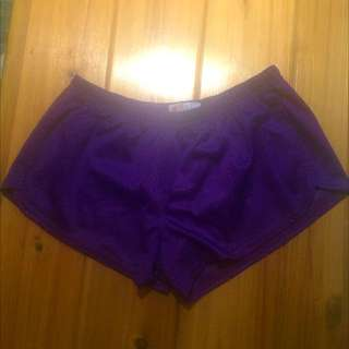 Purple Soffe Shorts
