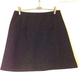 Size 8 Marcs 100% Wool Skirt