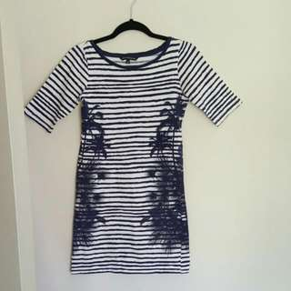 French Connection EUC T Shirt Dress Size 8