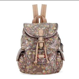 Sakroots Small Flap Backpack - Sterling Treehouse