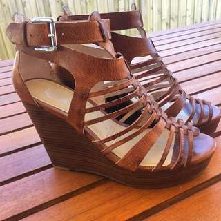 Wittner Wedges - Worn once, Size 39
