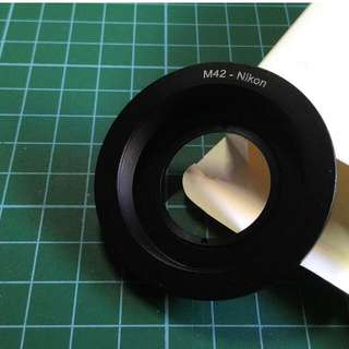 M42-Nikon Adapter with Glass Element