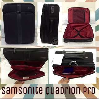 Samsonite Quadrion Pro Luggage