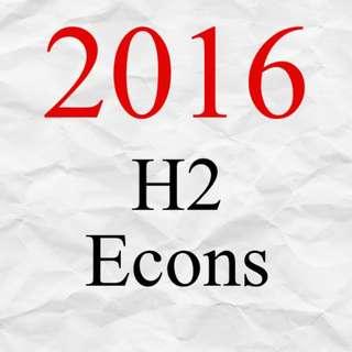 2016 JC H2 Economics Exam Papers | A Level Economics Test Papers 2016