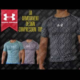 Under Armour AMOURVENT Compression Shirt 📦📥INSTOCK‼️