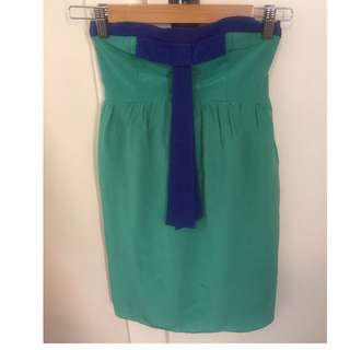Forever New Green dress (size 8)