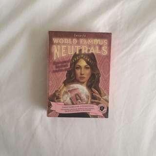 World Famous Neutrals // Benefit Palette