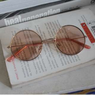 70s Rose Coloured Sunnies