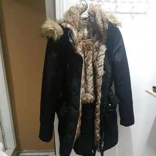 Brand New Zara Fur Lined Parka