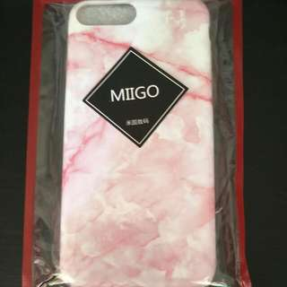 IPHONE 7 PLUS PINK MARBLE PHONE CASE