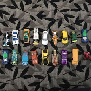 Assorted Mini Cars