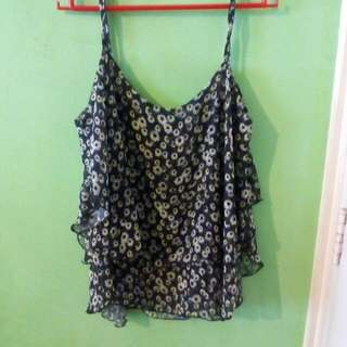 Sunflower Flowy Top