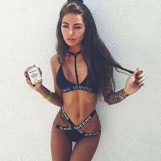 God save queens bikini