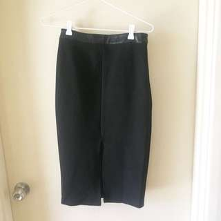 Dotti Black Skirt