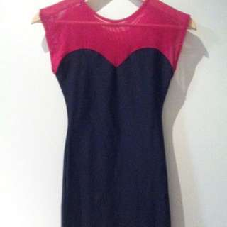 American Apparel Sweetheart Body-Con Dress (RARE)
