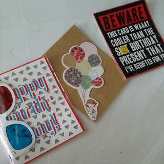Birthday Cards From TYPO