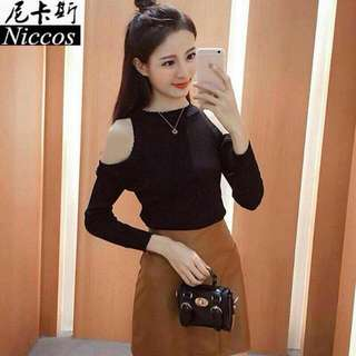 8020 Knitted Blouse