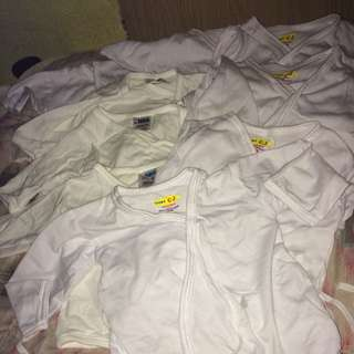 New Born white Clothes Baby Set