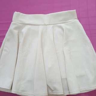 Items Selling-  1) Off-white Skater Skirt   2) Grey Color Cotton Mini-skirt      (Bought Fm Taiwan)