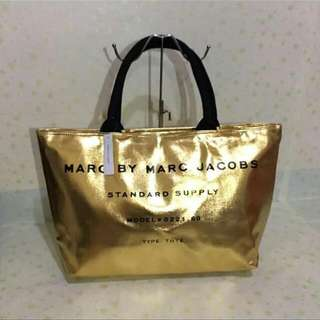 Marc By Marc Jacob Summer Tote Bag Color: Gold  Payments Thru BPI / Cebuana  Contact Person: Hazel Cruz Contact No: 09420342319