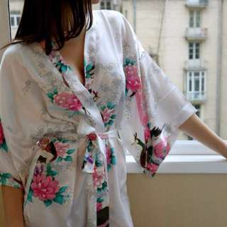Japanese Cherryblossom & Phoenix Dress Gowns