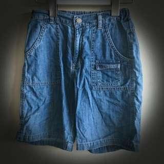ELLE 小男童牛仔短褲!