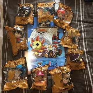 One Piece McDonald's Full Set