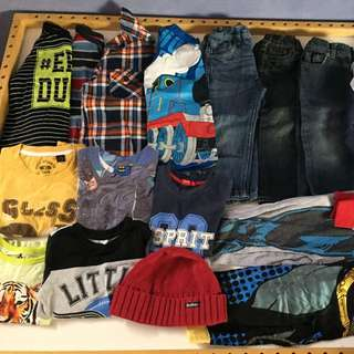 Huge Lot Boys-size 3-4 60items-$1 Each